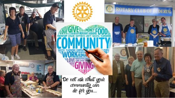 Being involved in your community keeps you healthy!